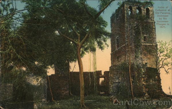 Ruins of Cathedral at Old Panama