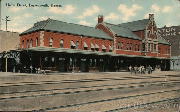 Union Depot Leavenworth Kansas