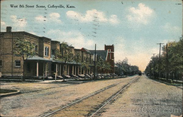 West 8th Street Scene Coffeyville Kansas