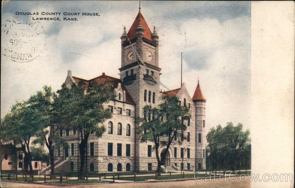Douglas County Court House Lawrence Kansas