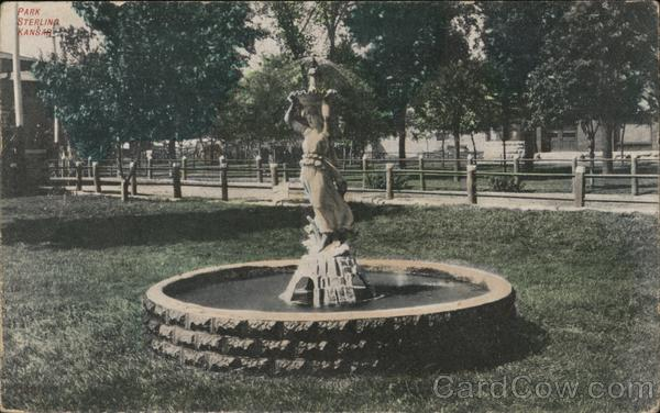 Park Fountain Sterling Kansas