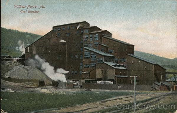Coal Breaker Wilkes-Barre Pennsylvania