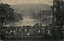 View of Market St,, Flood Dist., March 14th 1907