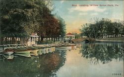 Boat Landing, Willow Grove Park