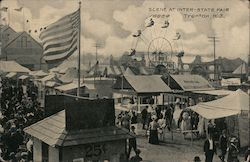 Scene at Inter-State Fair