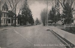Belvidere Avenue at Church Street