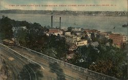 View of New York and Edgewater from Horse Shoe Curve