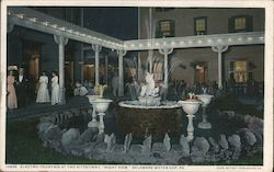"Electric Fountain at the Kittatinny, ""Night View"""