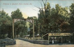 Entrance to Bushkill Park