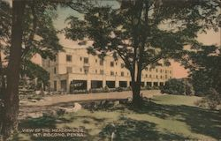 View of the Meadowside Postcard