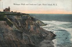 Mohegan Bluffs and South-east Light