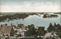 View From Thousand Island House Postcard