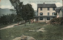 Cold Spring Farm House (McDonalds) Postcard