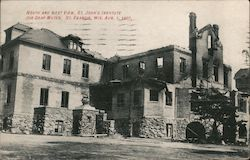 North and West View, St. John's Institute for Deaf Mutes Postcard