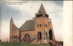 The Chapel at the Soldiers Home Postcard