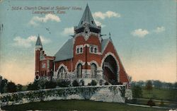 Church Chapel at Soldiers' Home Postcard