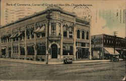 Bank of Commerce, Corner of Grant and Main Sts
