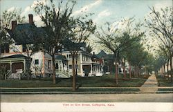 View on Elm Street Postcard
