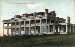 W.P. Brown's Mansion Postcard