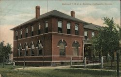 Railroad Y.M.C.A. Building Postcard