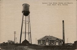 General View Water Works and Electric Light Plant