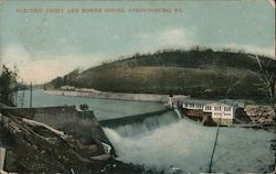 Electric Light and Power House Postcard