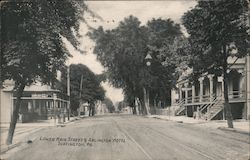 Lower Main Street and Arlington Hotel