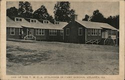 One of the Y.M.C.A. Buildings in Camp Gordon