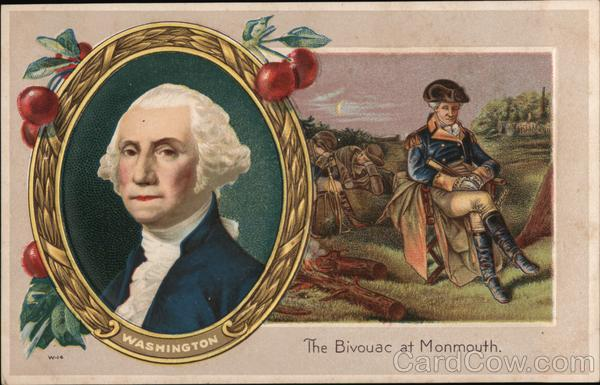 George Washington, The Bivouac at Monmouth President's Day