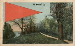 A Road to.... Postcard