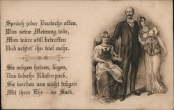 Man With Two Women (German)