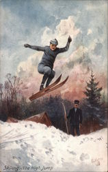 Skiing the High Jump