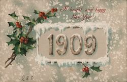 A Bright and Happy New Year: 1909