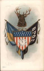 BPOE Lodge Flags and Shield