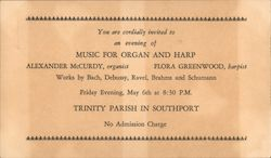 An Evening of Music for Organ and Harp