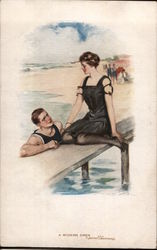 Victorian Couple at Beach