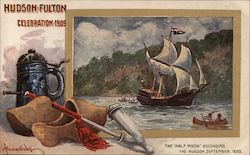 The Half Moon Ascending The Hudson, September 1609: Hudson Fulton Celebration 1909