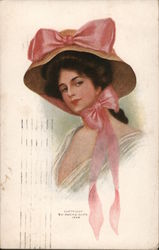 Woman Wearing a Hat.