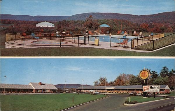 Breeze Manor Motel Breezewood Pennsylvania