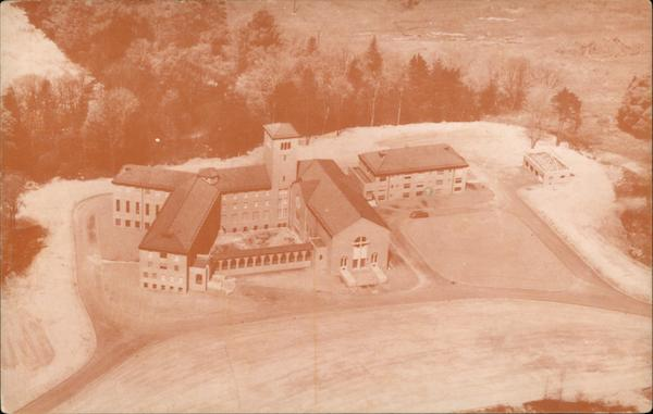 Aerial View of Mount Alvernia Seminary Wappingers Falls New York
