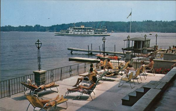 Lakeside Hotel & Motel Weirs Beach New Hampshire