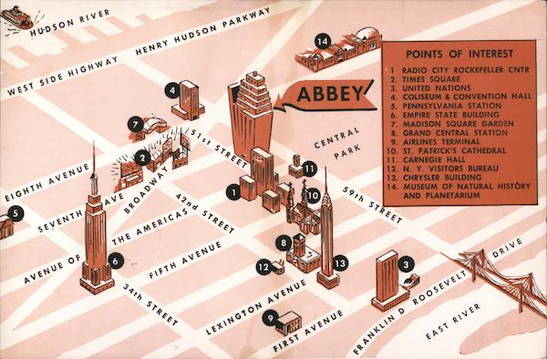 Abbey Hotel New York