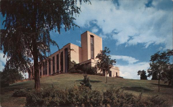 Student Health Center, Kent State University Ohio Postcard