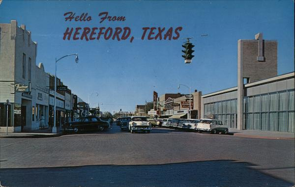 Hello from Hereford Texas Daddy O Payne