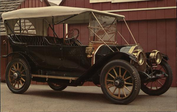 1911 Overland, Butts Buick, Inc. Santa Barbara California