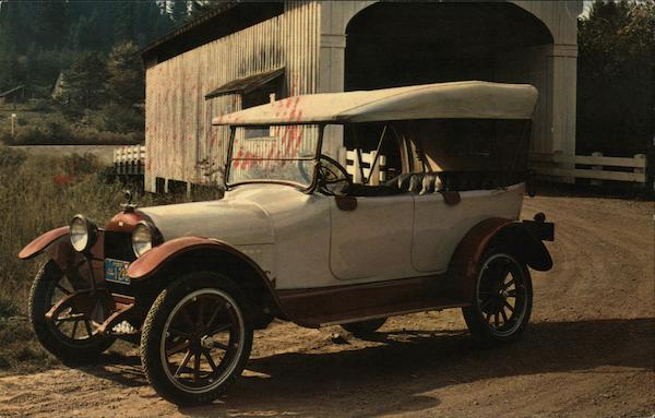 1917 Velie Touring Cars