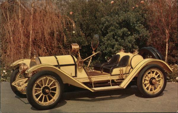 1913 Mercer Raceabout, Van Wyk's Santa Barbara California