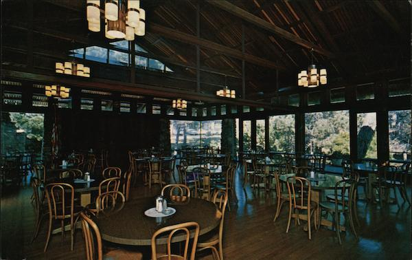 Interior View of Woodlands Dining Room Pacific Grove California