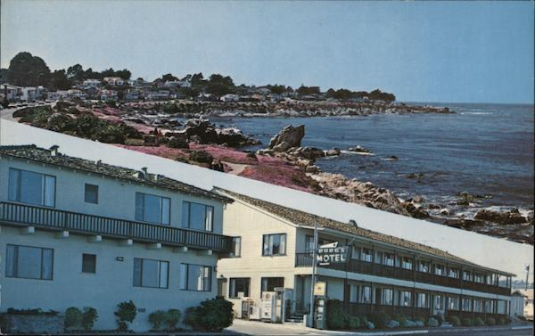 Ocean Front Motel Pacific Grove California