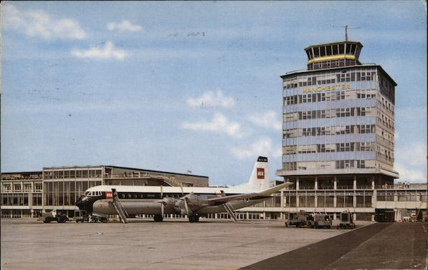 View of Airport Manchester England Greater Manchester